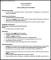 Medical CV Template Printable