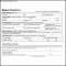 Medical Claim Form Sample