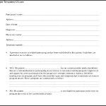 Medical Clearance Form Document