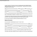Medical Consent Form In PDF