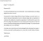 Medical Farewell Letter