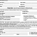 Medical Records Release Form  In PDF Format