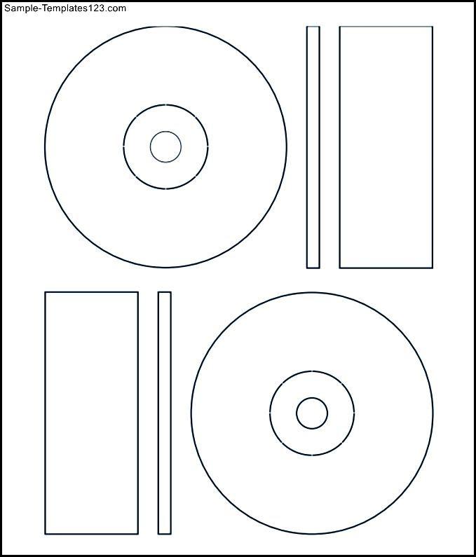 memorex cd label template download