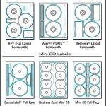 Memorex CD Label Template PDF