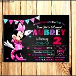 Micky Mouse Birthday Invitation Template
