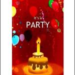 Microsoft Birthday Invitation Template
