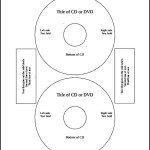Microsoft CD Label Template
