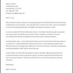 Microsoft Word Teacher Retirement Letter Template