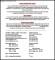 Model Resume for BPO