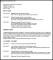 Modern CV Template Sample