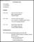 Modern Resume Template Doc