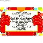 Monster Birthday Street Personalized Invitations