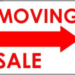 Moving Sale Sign Template