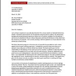 Music Teacher Cover Letter Example PDF Template Free Download