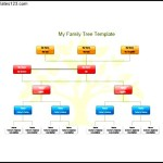 My Family Tree Template for Kids Free PDF Format