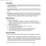 National Letter of Intent Procedure