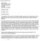 National Letter of Intent Sample