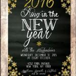 New Years Invitation Printable