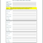 New customer Credit Form Application