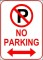 No Parking Template