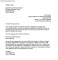 Notice to Vacate Sample Letter