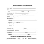 OSHA Form 300 Incident Report