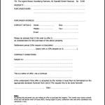 Offer Letter Template Rural Property Real Estate Printable