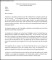Offer Letter Template for Temporary Employment Word Format