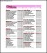 Office House Cleaning List Templates
