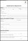 Outside Service Request Form Template