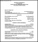 PDF Printable General CV Template Free