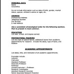 PDF Printable Medical CV Template