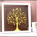 Papercut Family Tree Wall Art