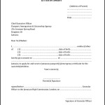 Parents Consent Letter for Travel PDF Format