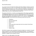 Past Due Fee Letter