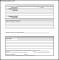 Patient Complaint Form Example