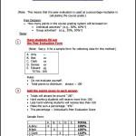 Peer Evaluation Percentage Form