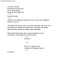 Personal Business Letter Format Block Style