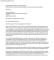 Personal Reference Letter Format PDF