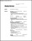 Personal Trainer Resume Format