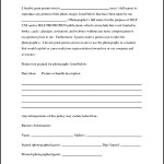 Photography Copyright Release Form