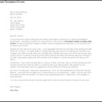 Preschool Teacher Cover Letter Template