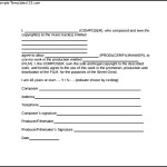 Print Music Release Form