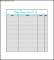 Printable Baby Shower Gift List Template