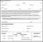 Printable Background Authorization Form
