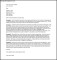 Printable Business Professional Cover Letter Template PDF Sample