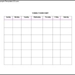 Printable Chore List Template