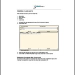 Printable Class List Template