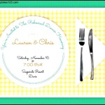 Printable Dinner Invitations
