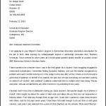 Printable Employment Letter of Intent Graduate School
